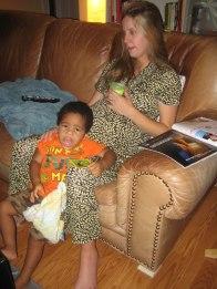 pregnancy tantrum