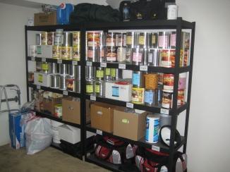 I swear my walker isn't part of my long-term food storage.