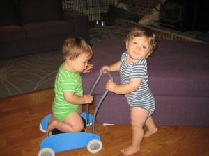 pushing the twin