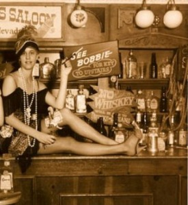 Tattoos and shaved heads are gateway drugs to saloon life in the 1800s.