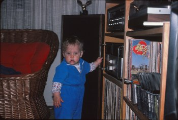 music lover baby