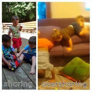 oversharing 2