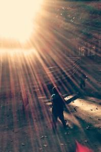happiness sunlight